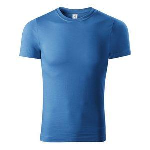 Adler (MALFINI) Tričko Paint - Azurově modrá   L vyobraziť