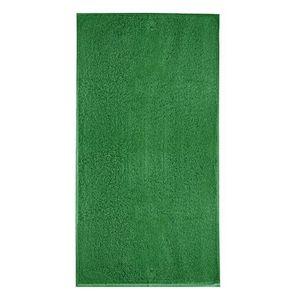 Adler (MALFINI) Osuška bez bordúry Terry Bath Towel - Středně zelená   70 x 140 cm vyobraziť