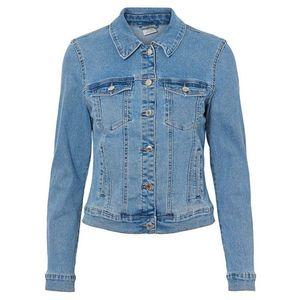 Vero Moda Dámska džínsová bunda VMHOT SOYA 10193085 Light Blue Denim S vyobraziť