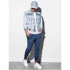 Pánska riflová bunda C441 - svetlo džínsová vyobraziť