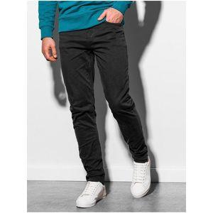 Pánske nohavice P895 - čierne vyobraziť