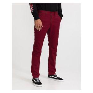 Voľnočasové nohavice pre mužov VANS - červená vyobraziť