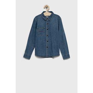 Pepe Jeans - Detská riflová košeľa Harry vyobraziť