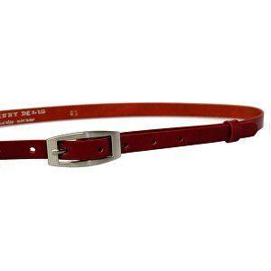 Penny Belts Dámsky kožený opasok 15-2-93 Červený 85 cm vyobraziť