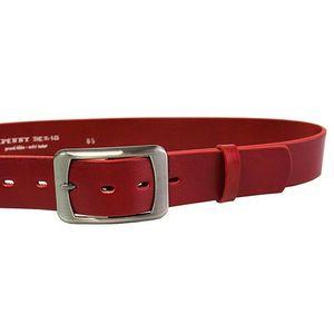 Penny Belts Dámsky kožený opasok 16293 Červený 105 cm vyobraziť