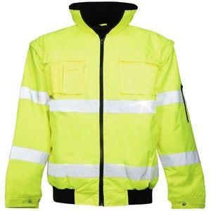 Ardon Nepremokavá reflexná bunda Howard reflex - Žlutá   XXL vyobraziť