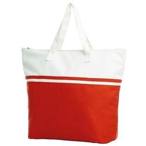 Halfar Veľká plážová taška SOUL - Červená vyobraziť
