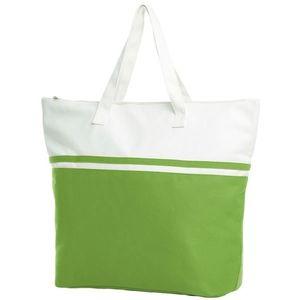 Halfar Veľká plážová taška SOUL - Světle zelená vyobraziť