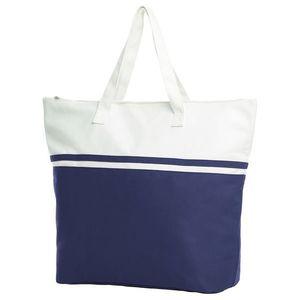 Halfar Veľká plážová taška SOUL - Tmavě modrá vyobraziť