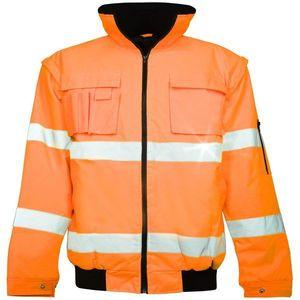Ardon Nepremokavá reflexná bunda Howard reflex - Oranžová   L vyobraziť