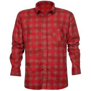 Ardon Pánska flanelová košeľa URBAN - Červená | 41-42 vyobraziť