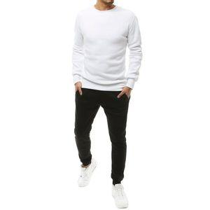 Trendová bielo-čierna tepláková súprava vyobraziť