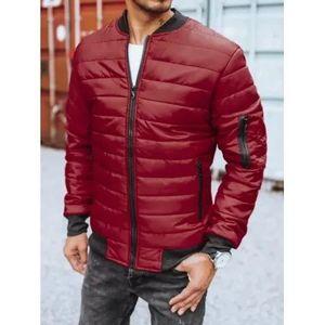 Pánska jesenná bunda červená FALL vyobraziť