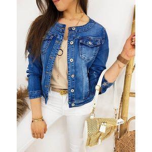Dámska štýlová džínsová bunda CHANELLES II TY1235 vyobraziť