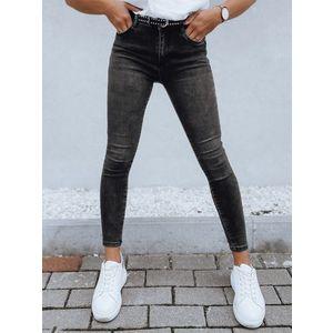 Štýlové čierne džínsy LENA. vyobraziť