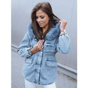 Trendová modrá džínsová bunda SASHA. vyobraziť