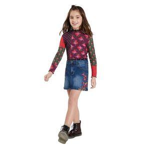 Desigual - Dievčenská rifľová sukňa vyobraziť