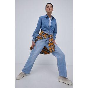 Tommy Jeans - Bavlnená košeľa vyobraziť
