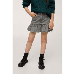 Mango Kids - Dievčenská rifľová sukňa Lulu vyobraziť