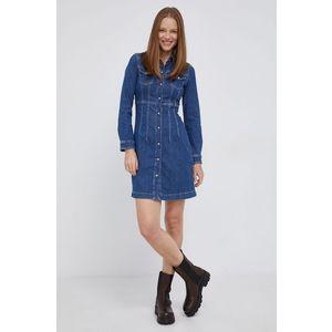Pepe Jeans - Rifľové šaty Lacey vyobraziť