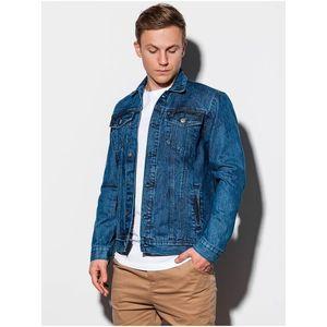 Pánska riflová bunda C441 - džínsová vyobraziť