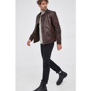 Pepe Jeans - Kožená bunda vyobraziť