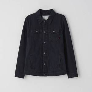 Cropp - Džínsová bunda - Čierna vyobraziť